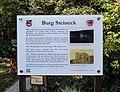 Rheinbreitbach Simrockstraße 7 Burg Steineck Informationstafel.jpg