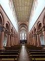 Rheinmünster, Klosterkirche Schwarzach, Langhaus, Blick nach Osten 2.jpg