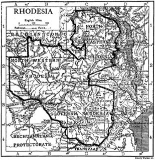 Rhodesia (region) historical region