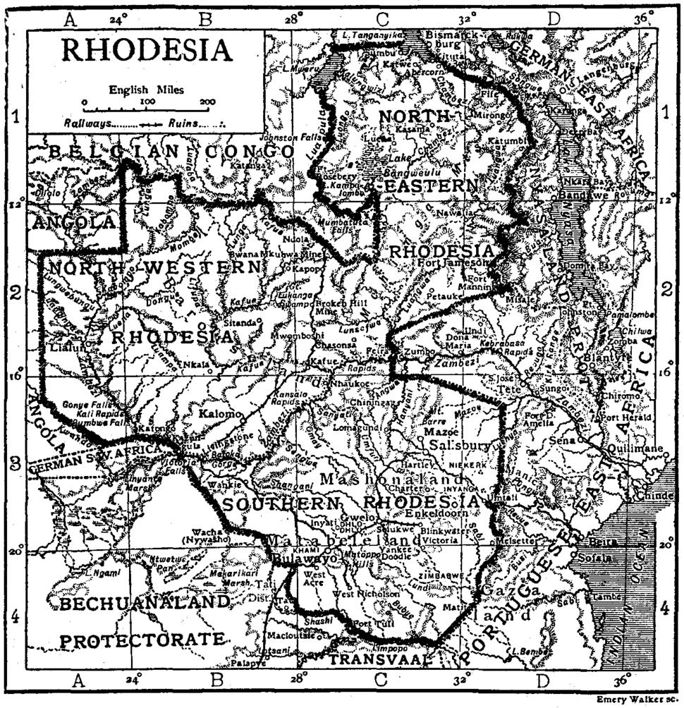 Rhodesia under Company rule in the 1911 Encyclopædia Britannica