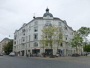 Nordre Frihavnsgade - Riberhus (No. 31) corner with Randersgade