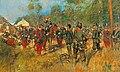 Richard Knötel - Kapitulation Kaiser Napoleons III. am 1. September 1870 nach der Schlacht von Sedan.jpg