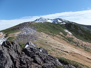 Mount Chōkai - Image: Ridge of the Mt. Chokai