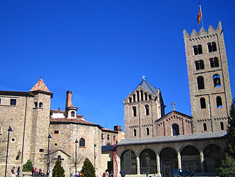 1030s in architecture - Image: Ripoll monestir