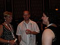 Rita and Greg Arens chat with Maria Niles (4876509935).jpg