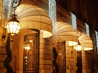 Hôtel Ritz Paris - Entrance, 2009
