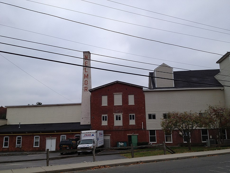 Rivulet Mill Complex, 1814, North Uxbridge, MA