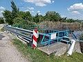 Road 6213 bridge over Dinnyés-Kajtori Canal, 2017 Pákozd–Dinnyés.jpg