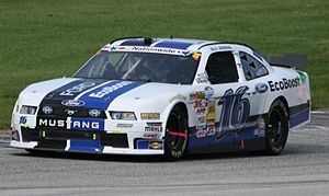 Billy Johnson (racing driver) - Johnson's No. 16 at Road America in 2013