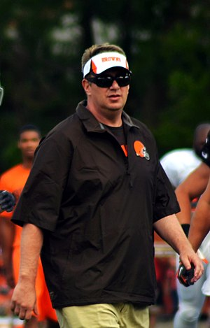 Rob Chudzinski - Chudzinski as head coach of  the Cleveland Browns in 2013