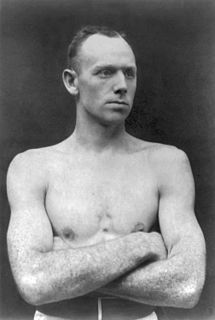 Bob Fitzsimmons British boxer