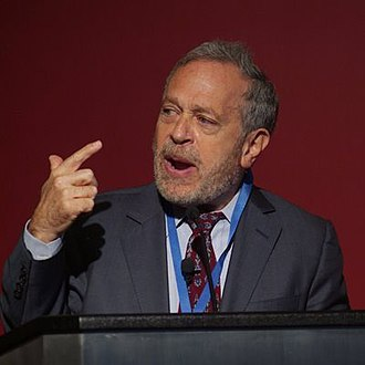 The VIZE 97 Prize - Image: Robert Reich, Policy Network, April 6 2009, detail