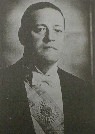 1937 Argentine presidential election - Image: Roberto Ortiz