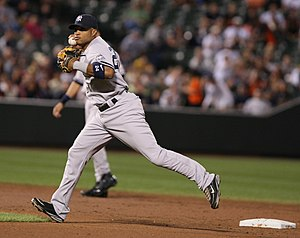 Robinson Canó - Canó in the field