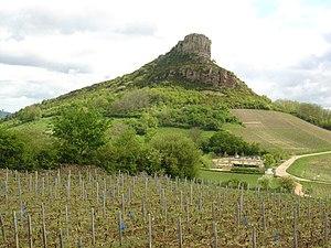 Rock of Solutré - La Roche de Solutré