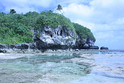 Rockpools and cliff at Niue.jpg