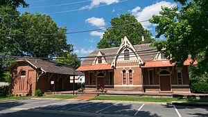 Ephraim Francis Baldwin - Image: Rockville Railroad Station in 2017