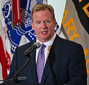 Roger Goodell - Goodell speaking at the United States Military Academy in August 2012