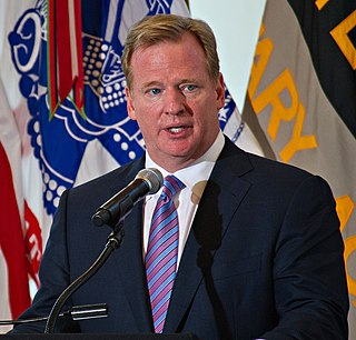Roger Goodell 8th Commissioner of the National Football League