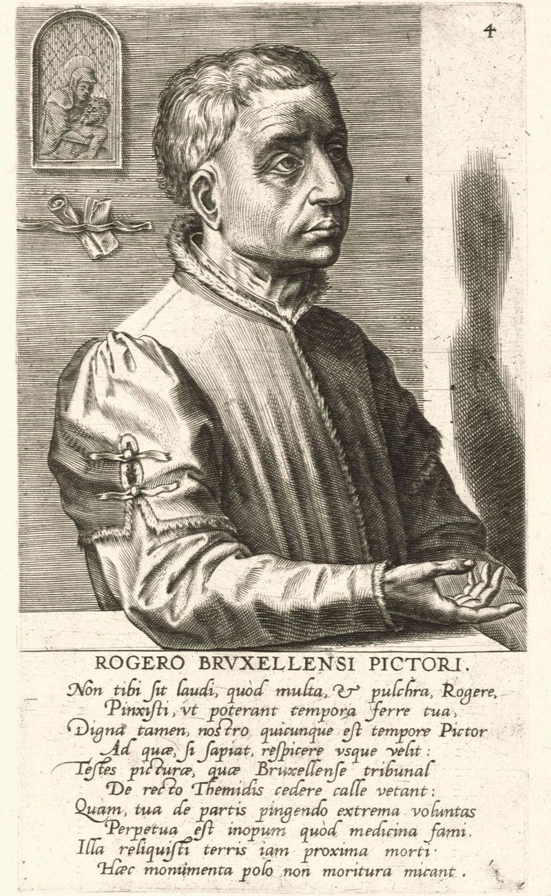 Juin 2021 - Page 2 800px-Rogier_van_der_Weyden_by_Jan_Wierix%2C_1572