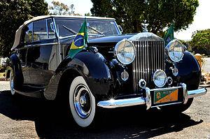 Presidential State Car (Brazil) - Image: Rolls Royce Presidencial