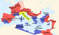 Roman empire 14 AD (provinces) ru.png