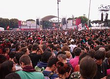 Approximately 700,000 people at May Day concert in Rome
