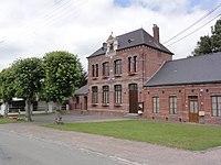 Romery (Aisne) mairie.JPG