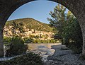 Roquebrun from under the bridge.jpg