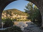 Roquebrun from under the bridge.jpg