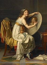Rose Adélaïde Ducreux, Portrait of the Artist, ca. 1799. Oil on canvas, Musée des beaux-arts, Rouen.jpg