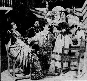 Rose of the Rancho - Scene from the film.