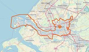 Rotterdam openstreetmap