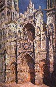 RouenCathedral Monet 1894