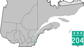 Image illustrative de l'article Route 204 (Québec)