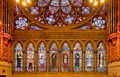 Row of eight Saints under the Great Rose Window, Sacred Heart Cathedral, Newark.jpg