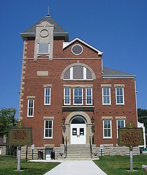Morehead, Kentucky - Rowan County Arts Center in Morehead. (Formerly Rowan County Courthouse)
