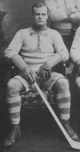 Rowley Young - Rowley Young with the Toronto Professionals in the 1906–07 season.