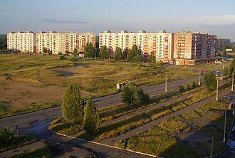 Rubizhne - Rubizhne skyline