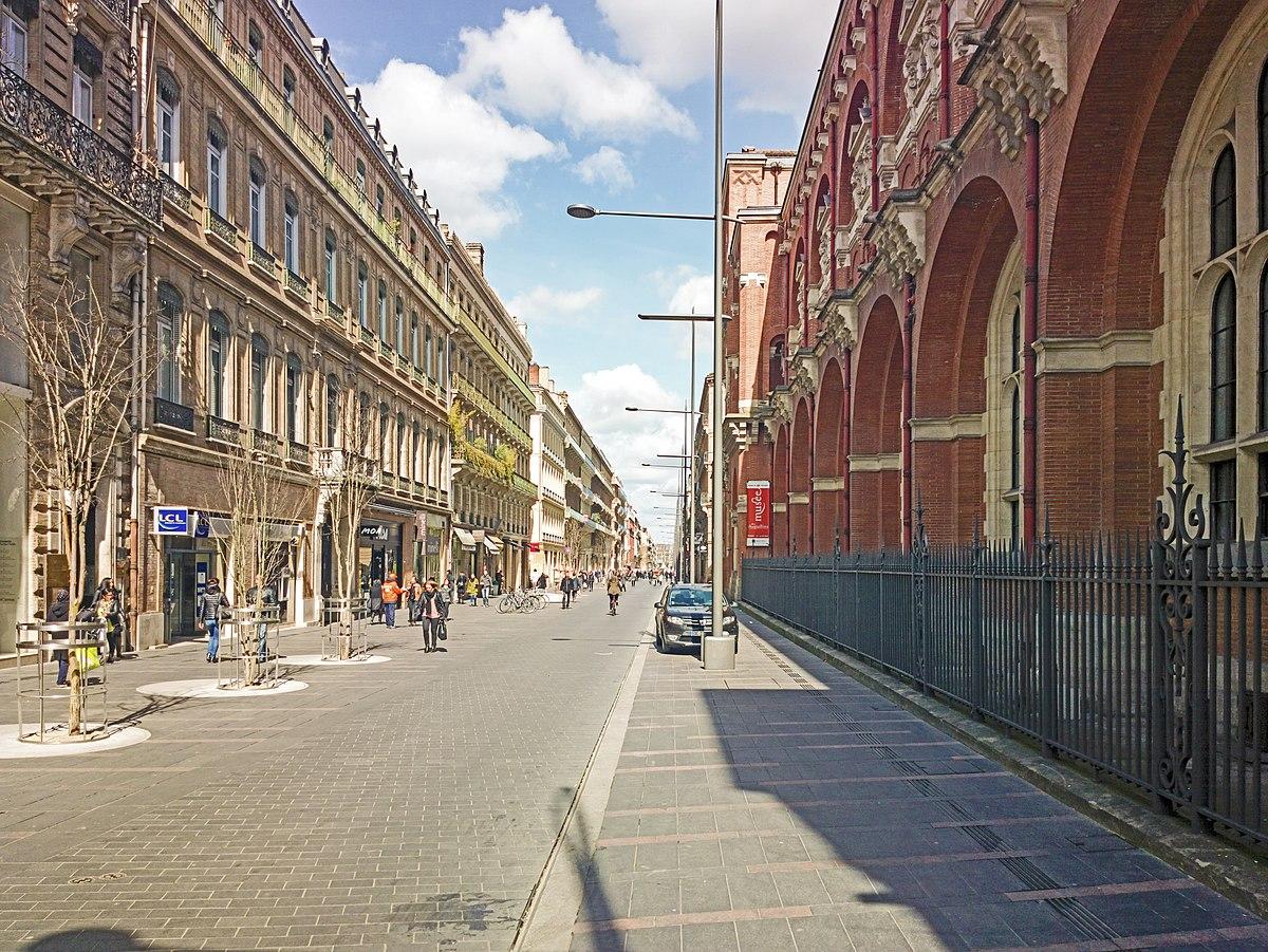 Rue d 39 alsace lorraine toulouse wikip dia - Residence les jardins d alsace strasbourg ...