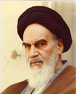 Ruhollah Khomeini 20th-century Iranian religious leader and politician, founder of the Islamic Republic of Iran