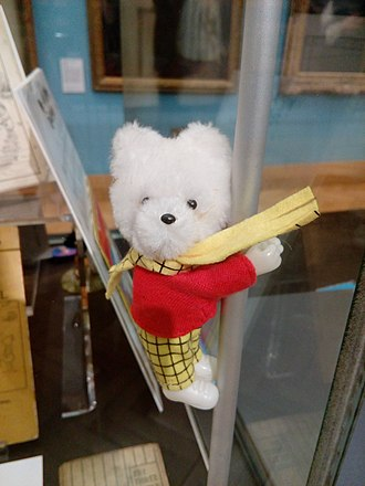 Rupert Bear - Rupert Bear is recognizable in his red jumper and yellow checked trousers and scarf