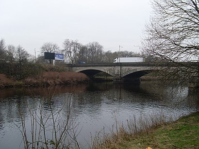 How to get to Rutherglen Bridge with public transport- About the place