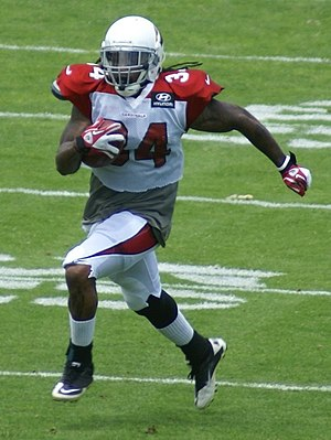 Ryan Williams (American football) - Williams with the Arizona Cardinals
