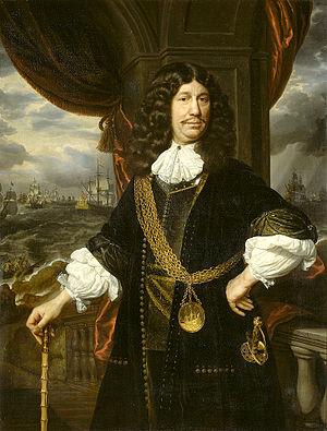 Samuel Dirksz van Hoogstraten - Image: S. van Hoogstraten Portrait of Matheus van den Broucke