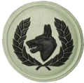 SANDF Dog Handler Instructor badge embossed.png