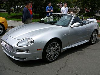 Maserati Coupé - 2006 GranSport Spyder