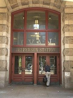 Jefferson Station (SEPTA) underground SEPTA Regional Rail station in Philadelphia, Pennsylvania
