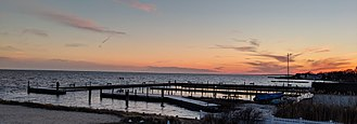 Sayville, New York - The Great South Bay at Sayville Sunset
