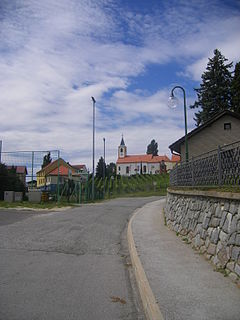 Zgornja Korena Place in Styria, Slovenia